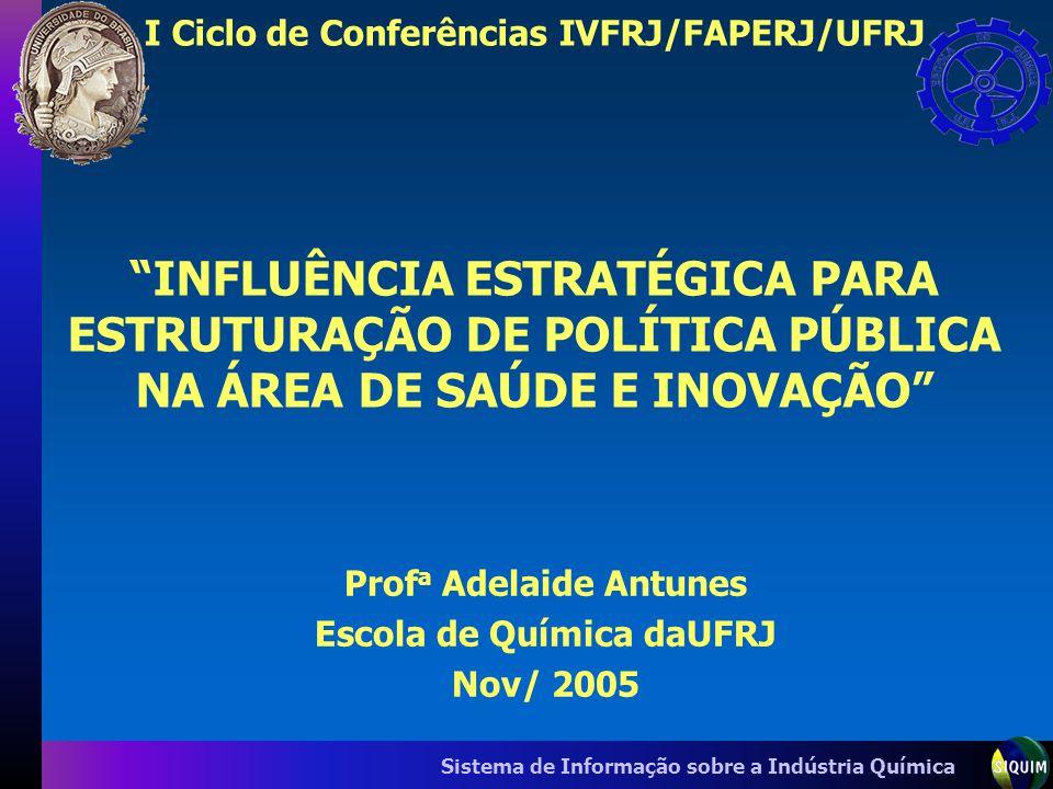 I Ciclo de Conferências IVFRJ/FAPERJ/UFRJ