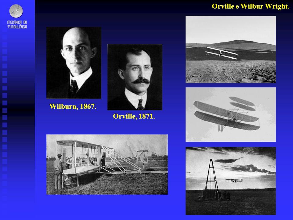 Orville e Wilbur Wright.