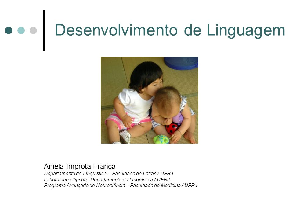 Desenvolvimento de Linguagem