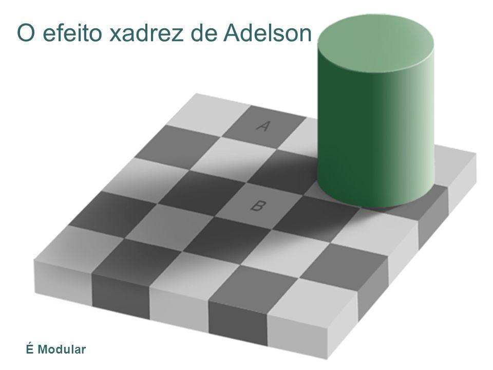 O efeito xadrez de Adelson