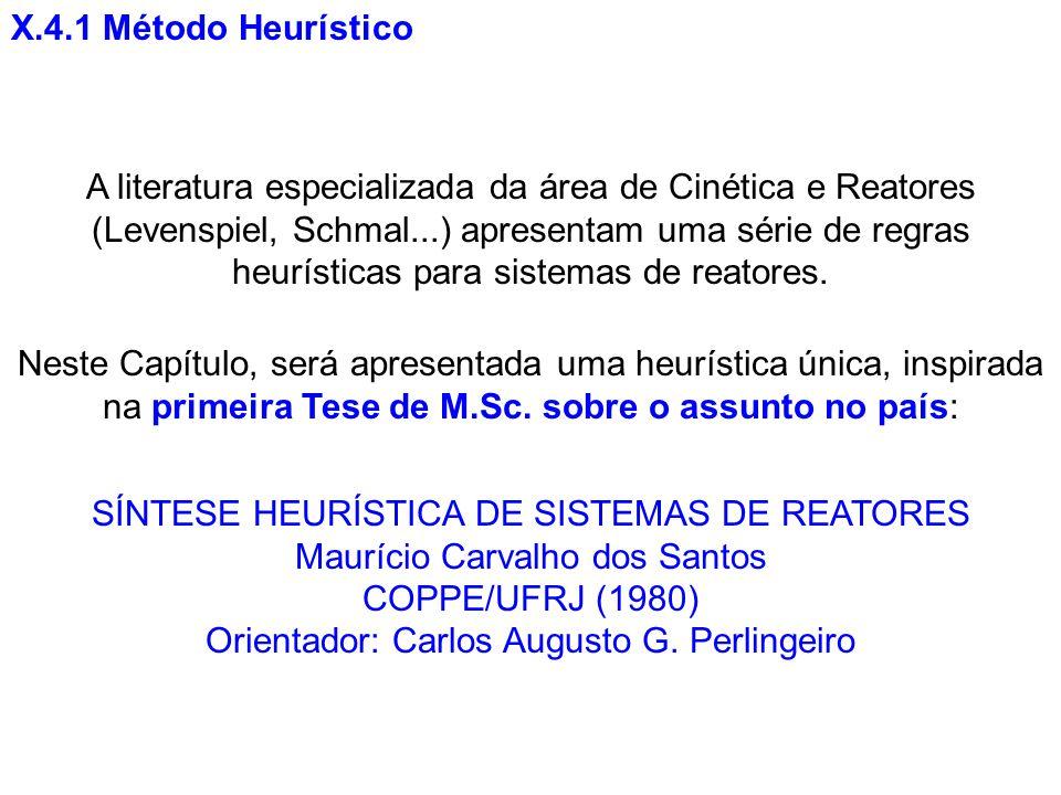 X.4.1 Método Heurístico