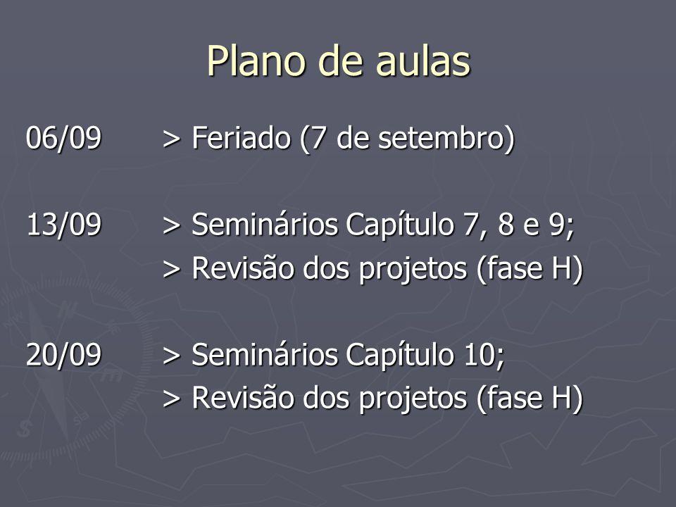 Plano de aulas 06/09 > Feriado (7 de setembro)