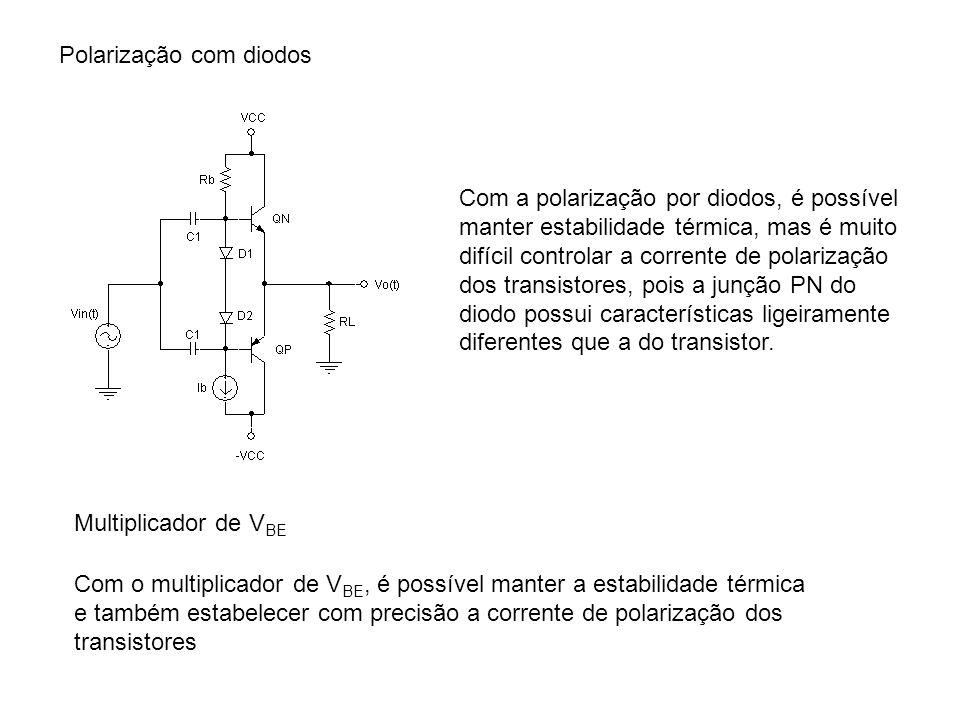 Polarização com diodos