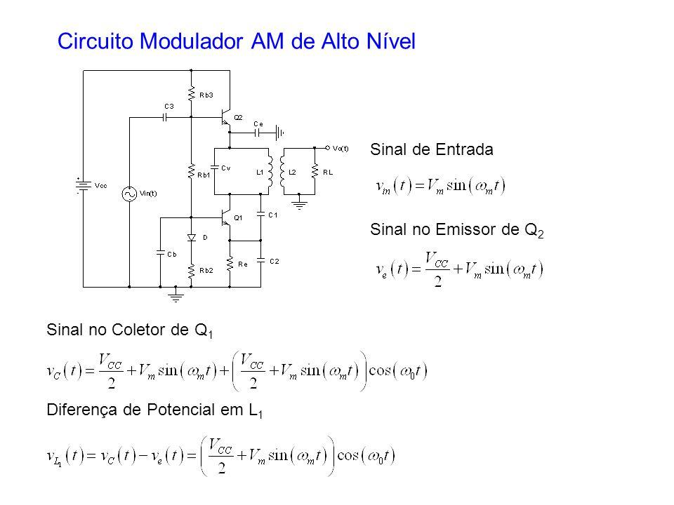 Circuito Modulador AM de Alto Nível