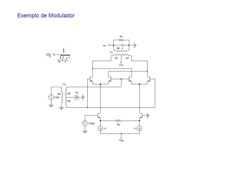 Exemplo de Modulador