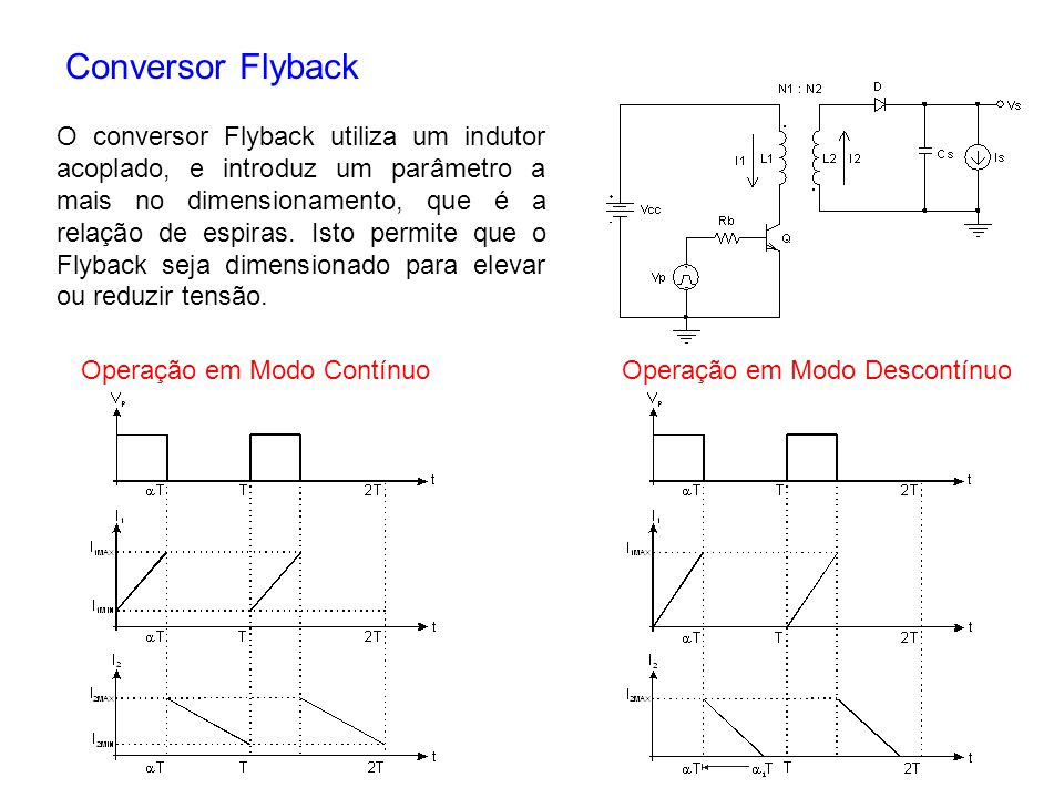 Conversor Flyback