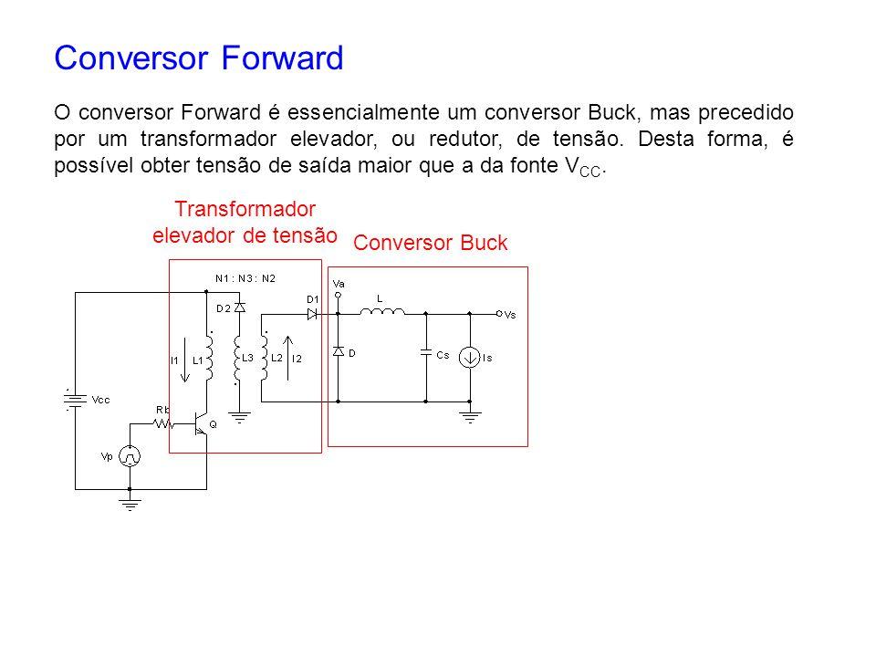Transformador elevador de tensão