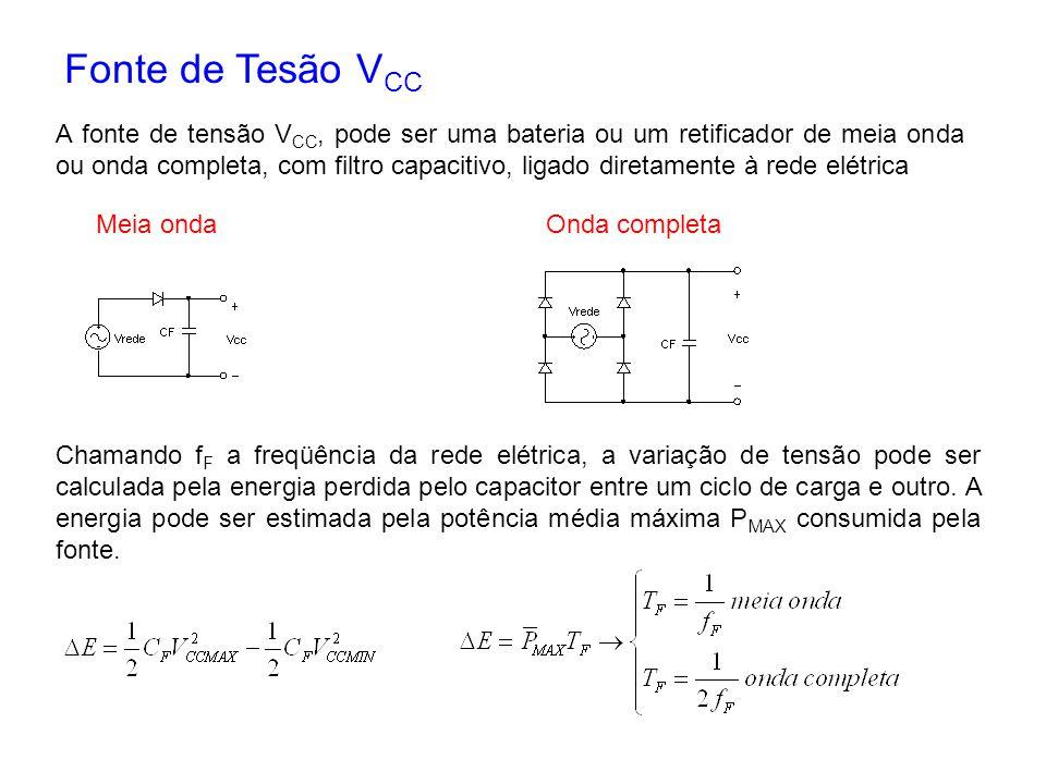 Fonte de Tesão VCC
