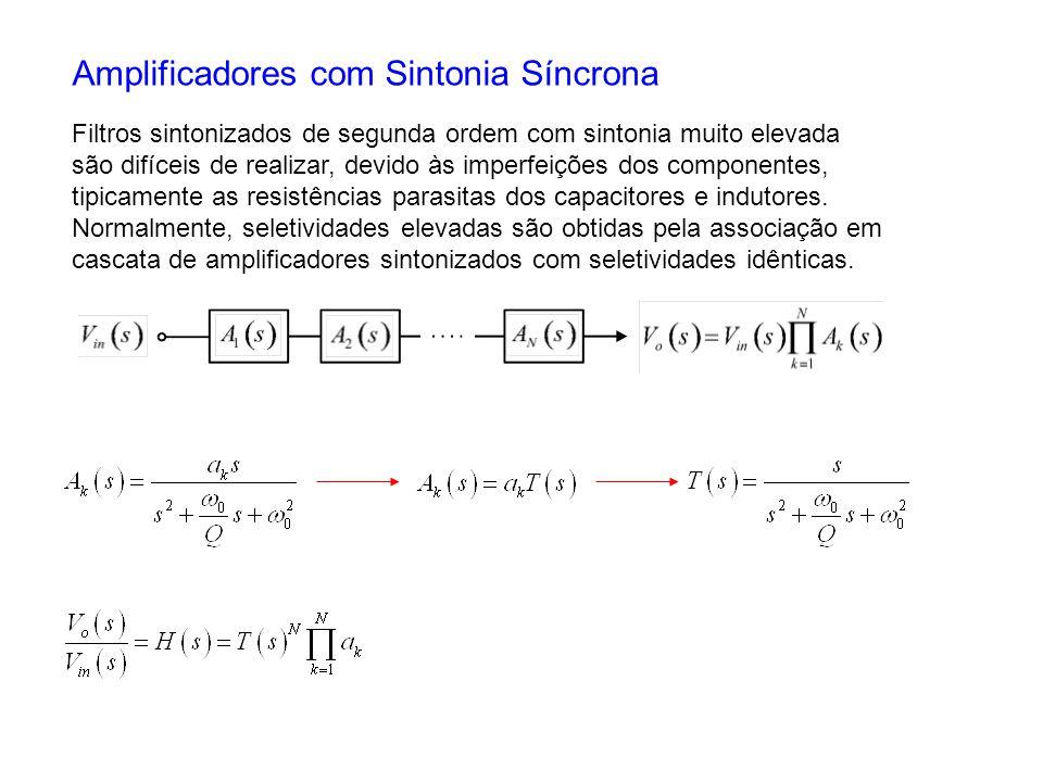 Amplificadores com Sintonia Síncrona