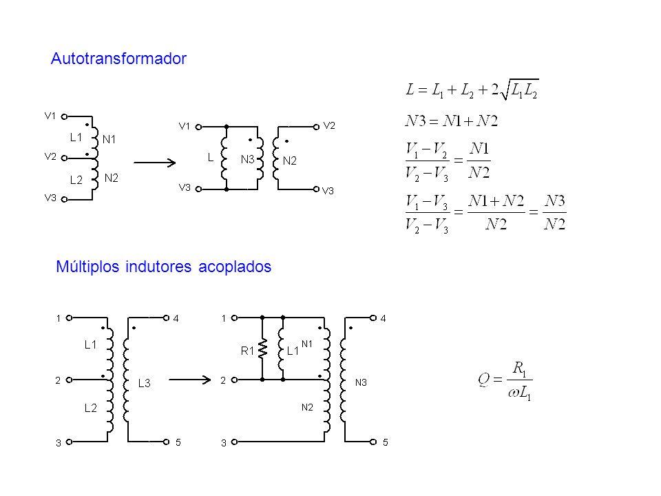 Autotransformador Múltiplos indutores acoplados