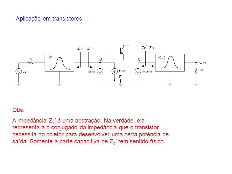 Aplicação em transistores