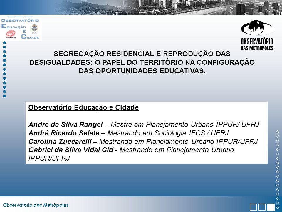 Observatório Educação e Cidade