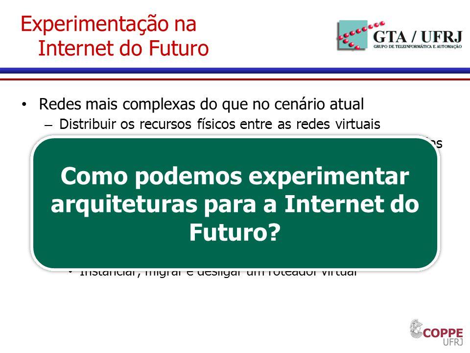 Experimentação na Internet do Futuro