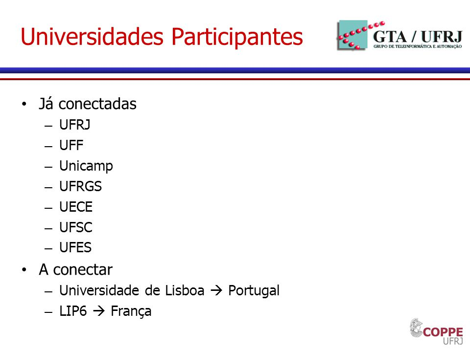 Universidades Participantes
