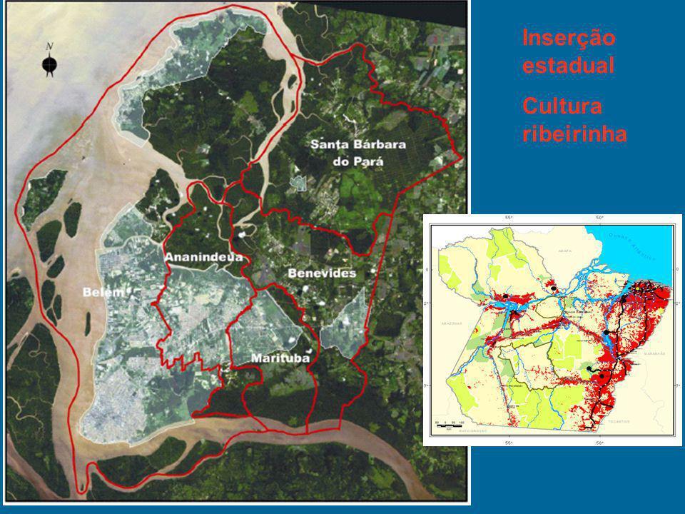 Inserção estadual Cultura ribeirinha