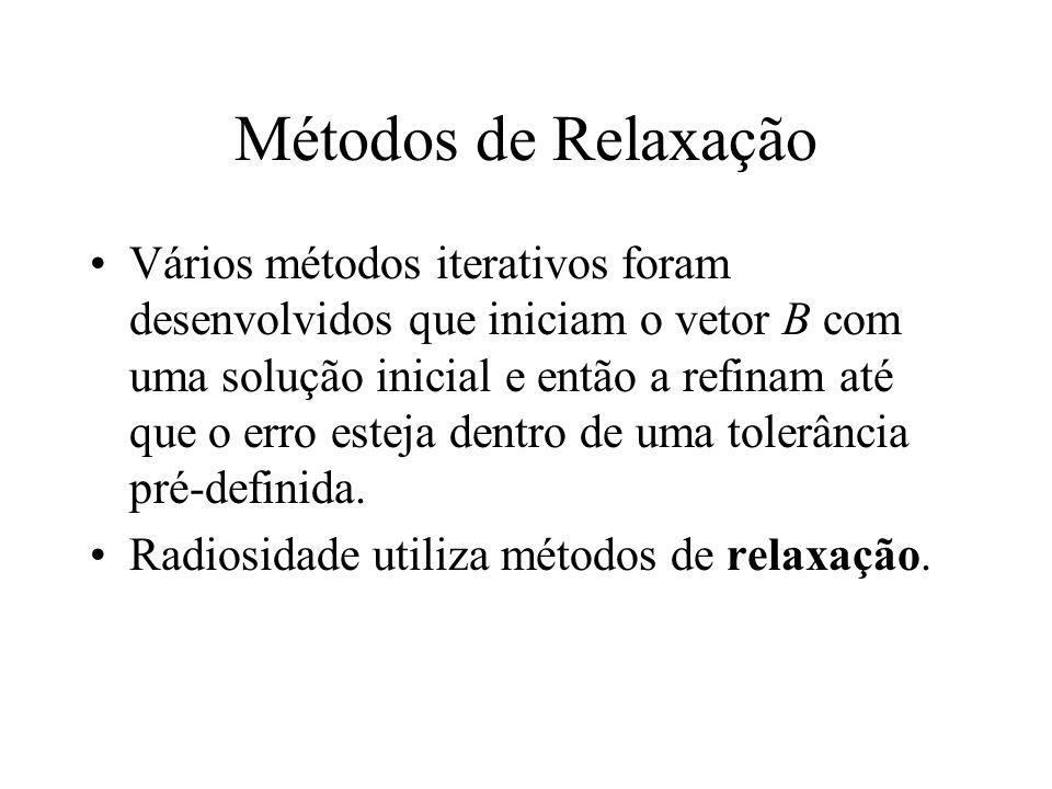 Métodos de Relaxação