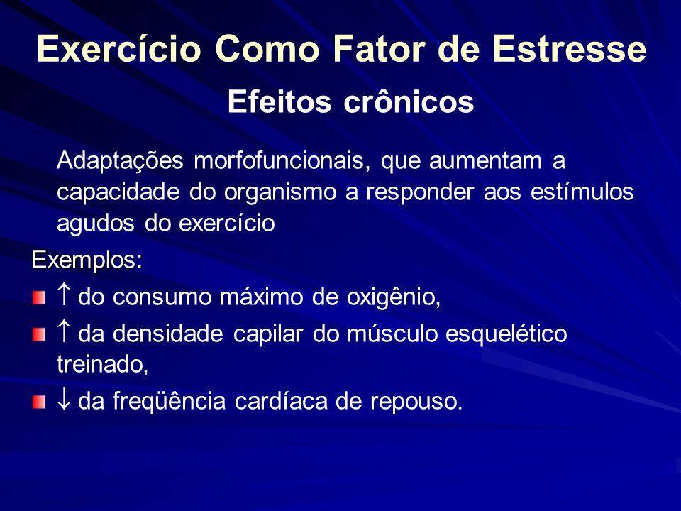 Exercício Como Fator de Estresse