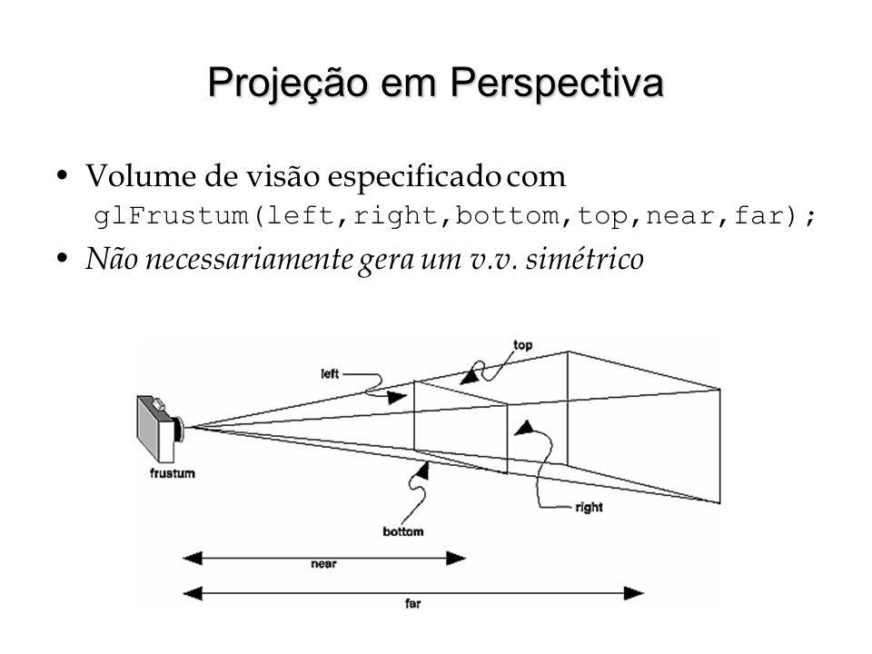 Projeção em Perspectiva