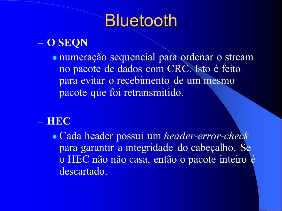 Bluetooth O SEQN.