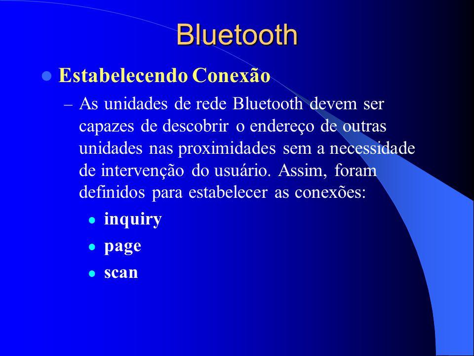 Bluetooth Estabelecendo Conexão