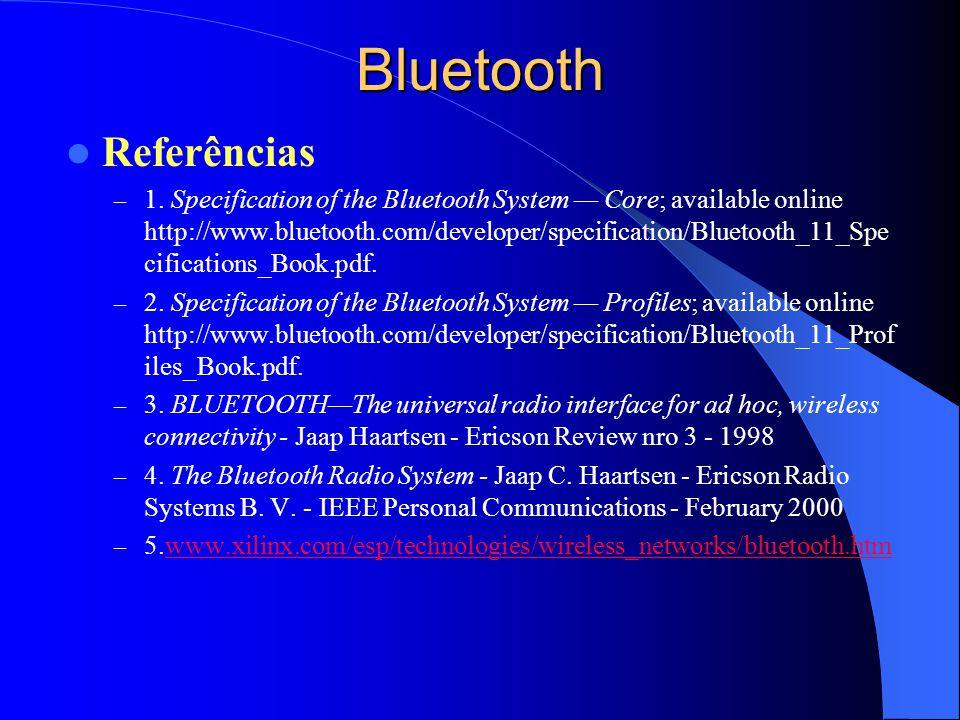 Bluetooth Referências