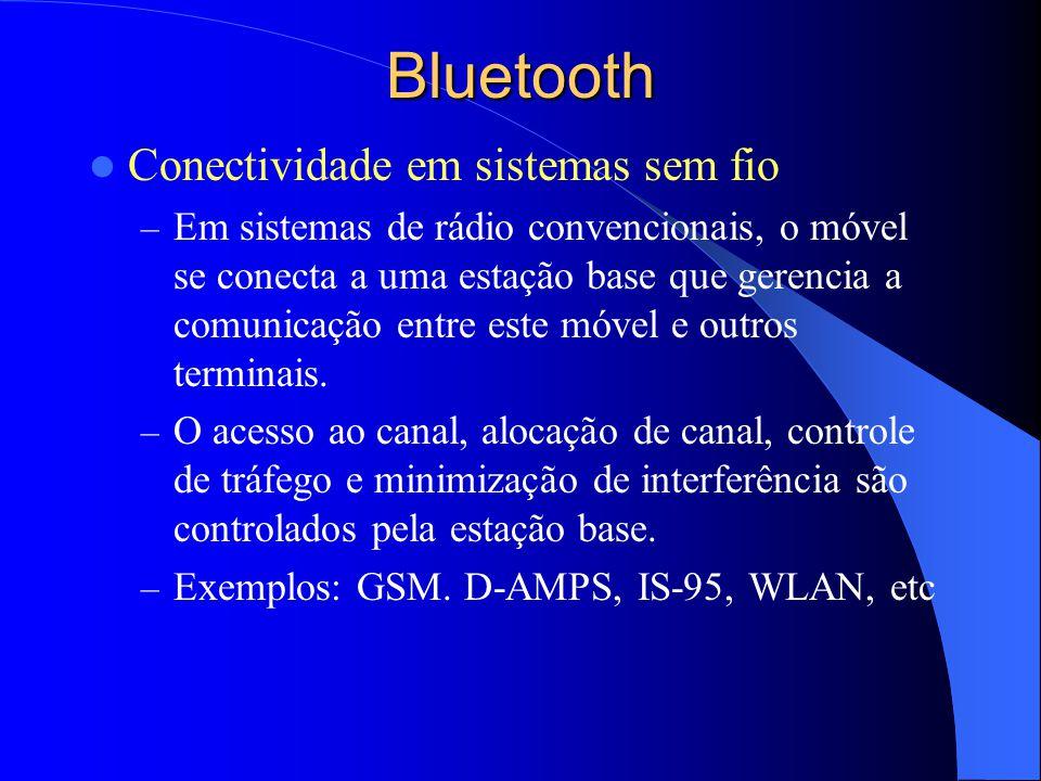 Bluetooth Conectividade em sistemas sem fio