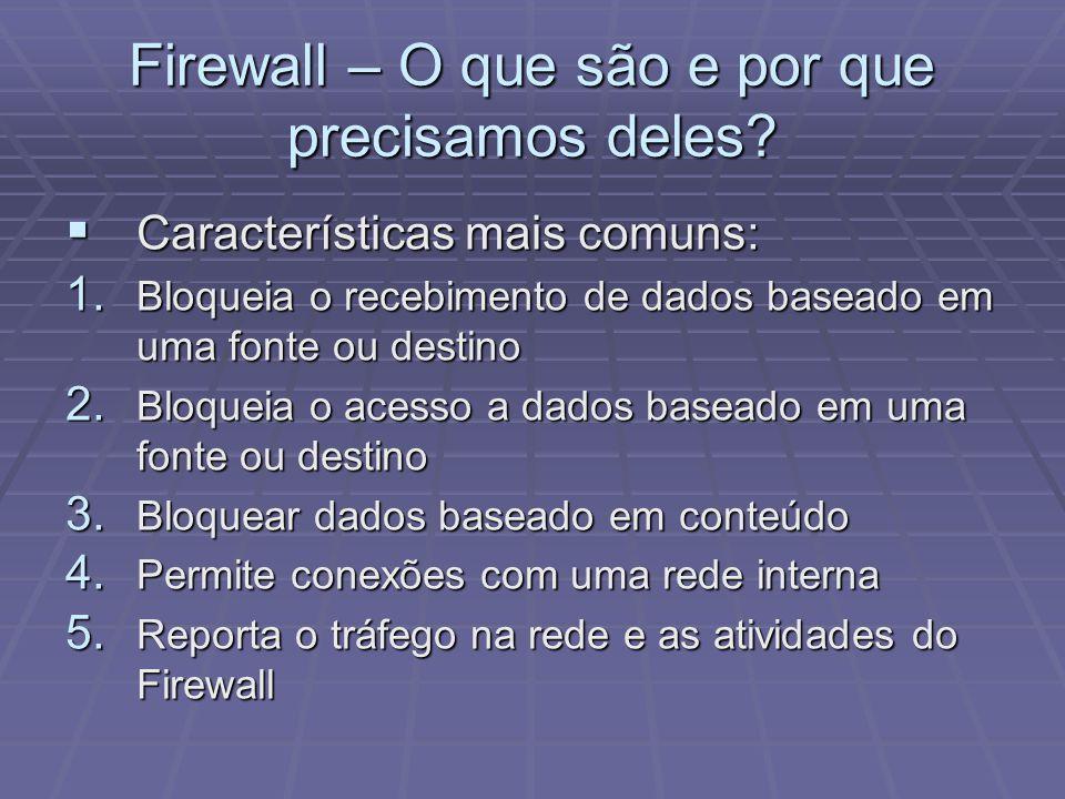 Firewall – O que são e por que precisamos deles