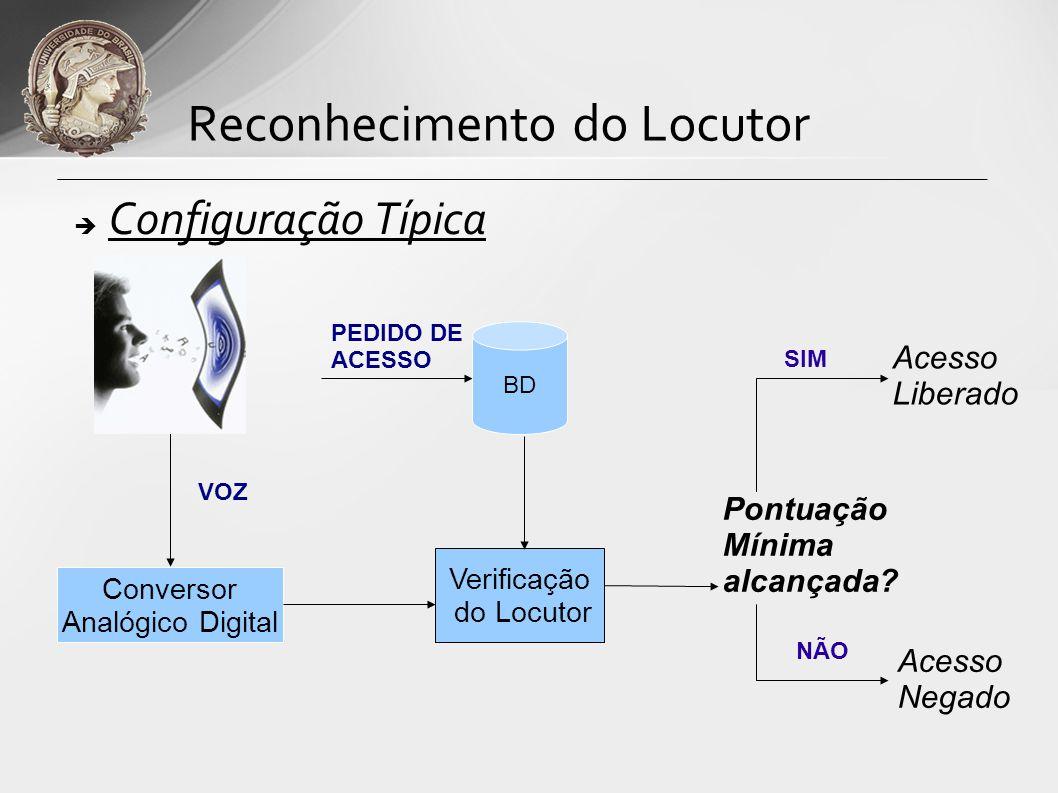 Reconhecimento do Locutor