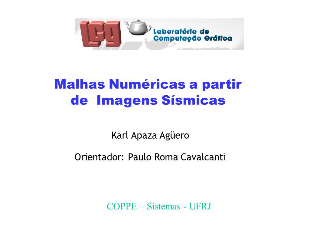 Malhas Numéricas a partir de Imagens Sísmicas