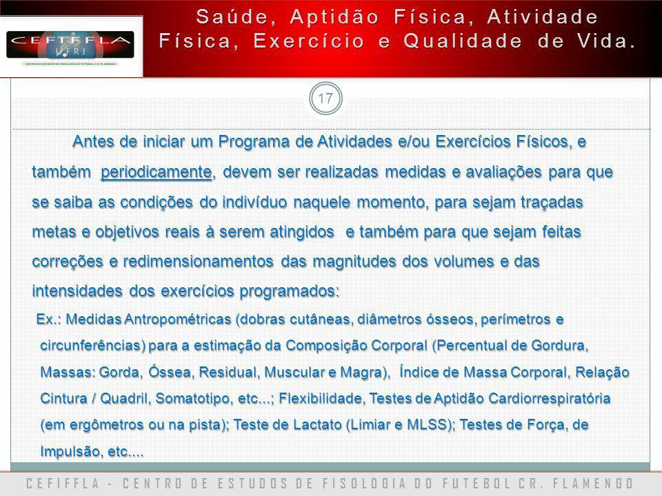 CEFIFFLA - CENTRO DE ESTUDOS DE FISOLOGIA DO FUTEBOL CR. FLAMENGO