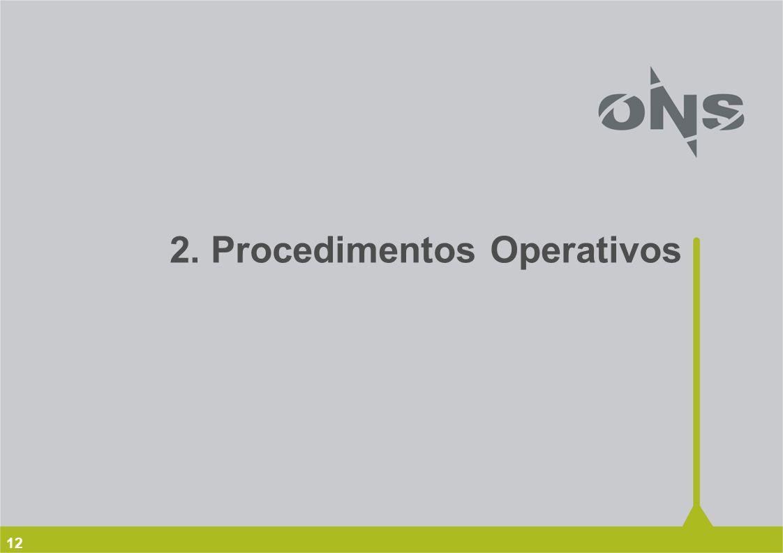 2. Procedimentos Operativos