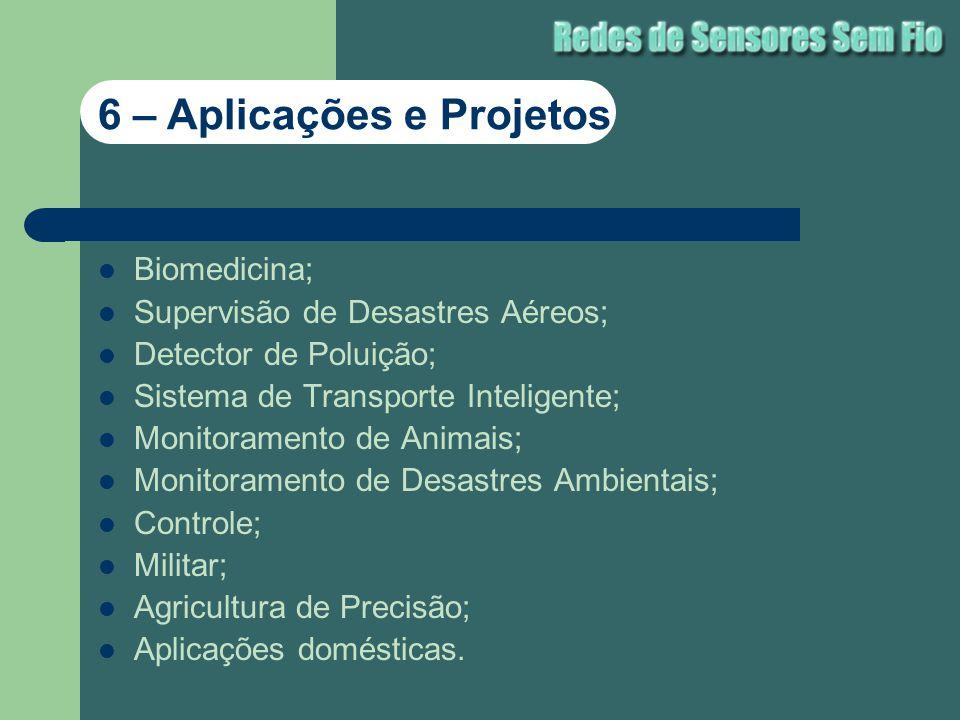 6 – Aplicações e Projetos