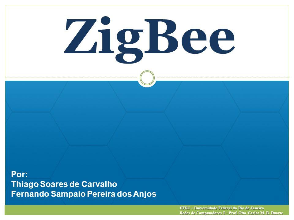 ZigBee Por: Thiago Soares de Carvalho