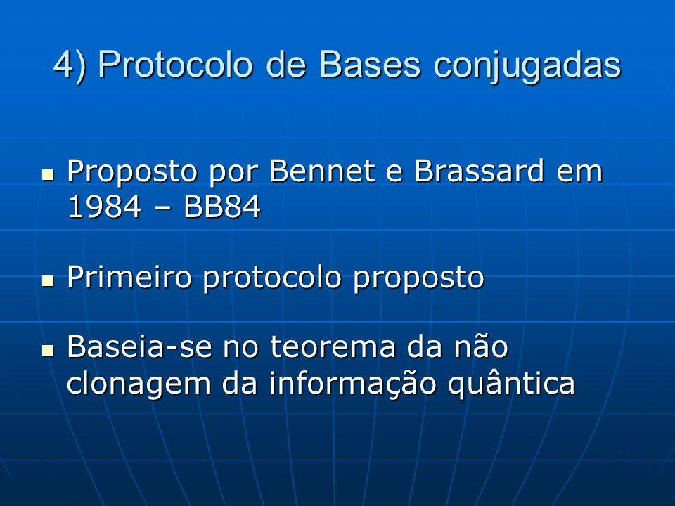 4) Protocolo de Bases conjugadas