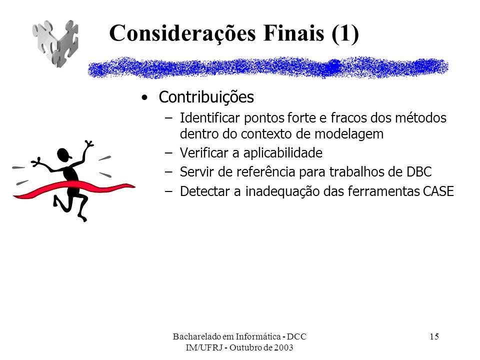 Considerações Finais (1)