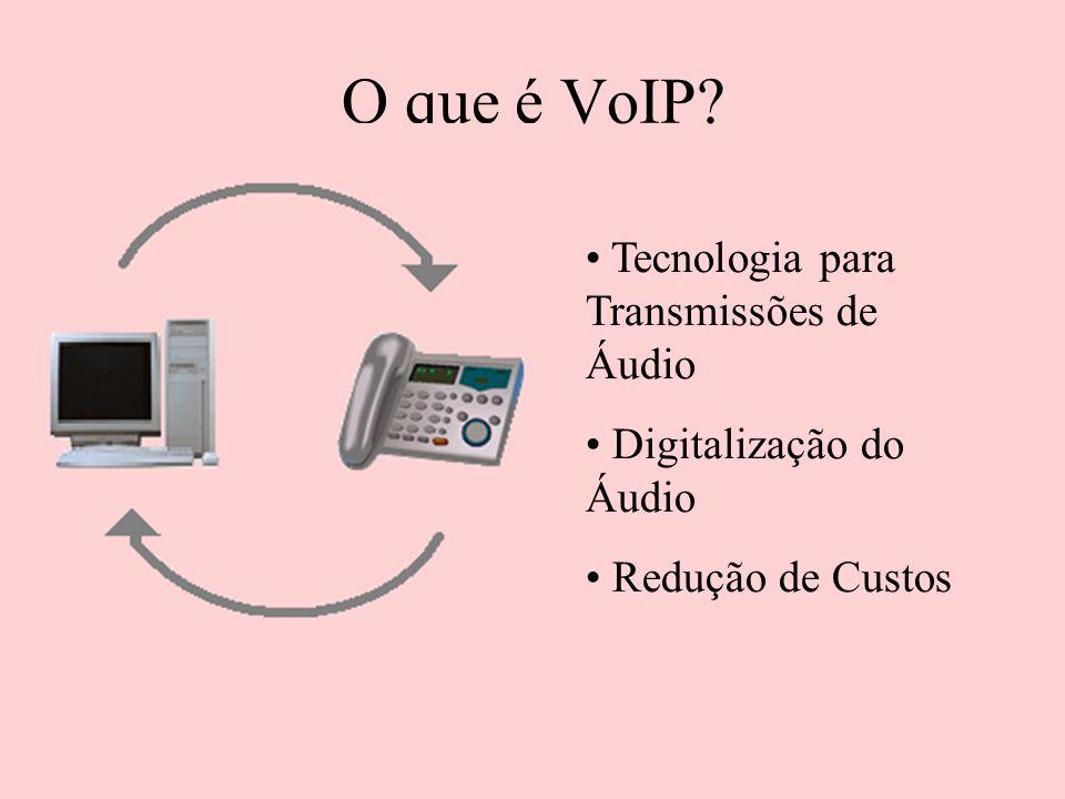 O que é VoIP Tecnologia para Transmissões de Áudio
