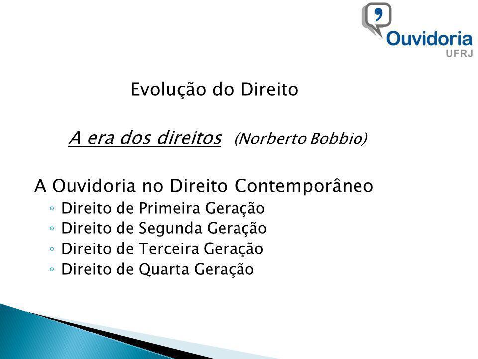 A era dos direitos (Norberto Bobbio)