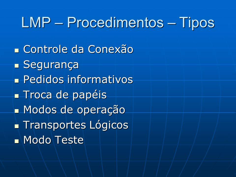 LMP – Procedimentos – Tipos