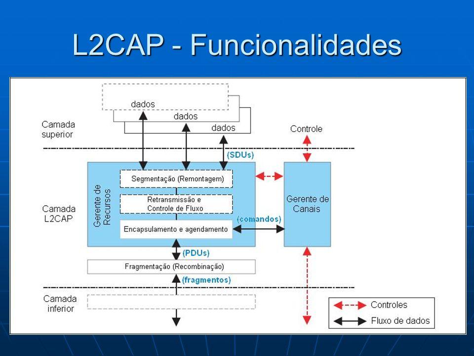 L2CAP - Funcionalidades