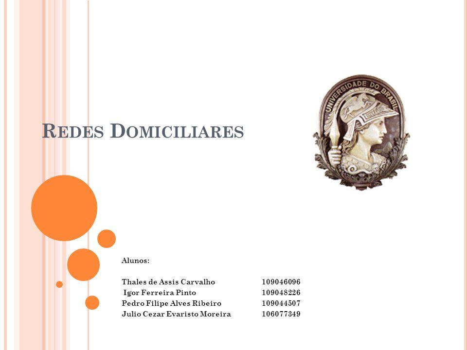 Redes Domiciliares Alunos: Thales de Assis Carvalho 109046096