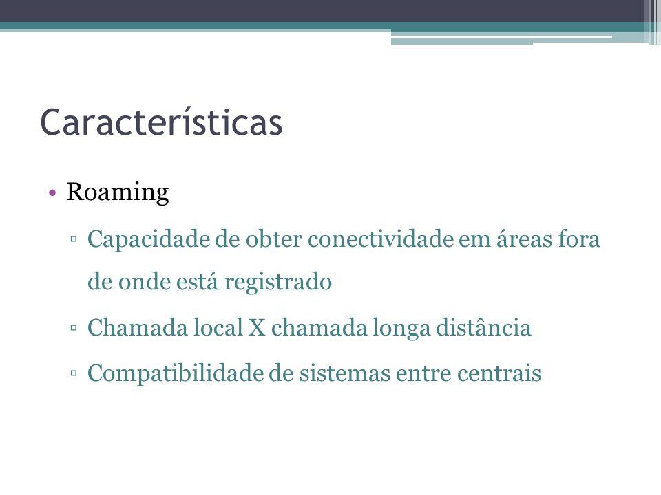 Características Roaming