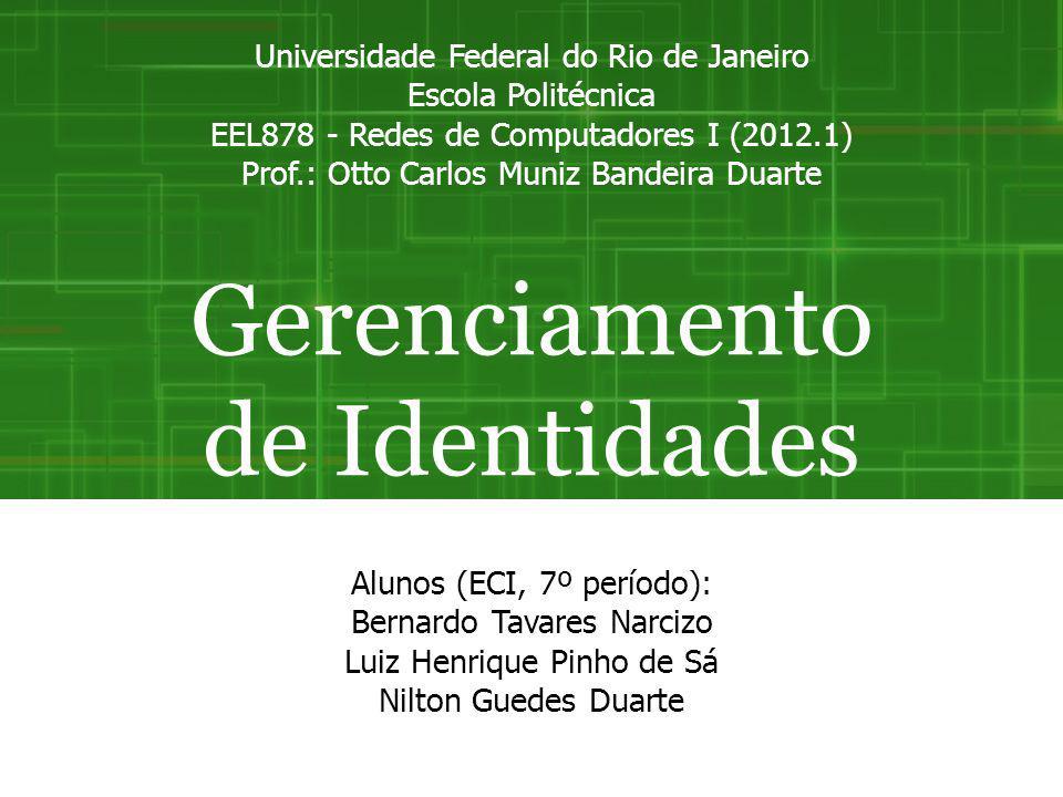 Gerenciamento de Identidades