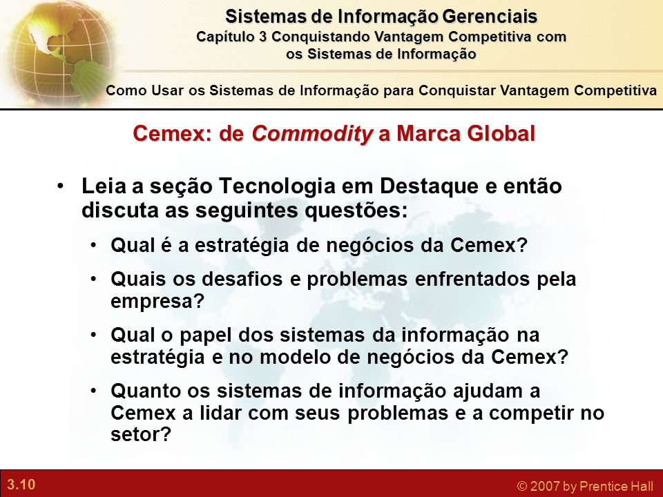 Cemex: de Commodity a Marca Global