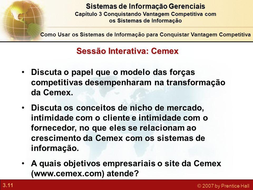 Sessão Interativa: Cemex