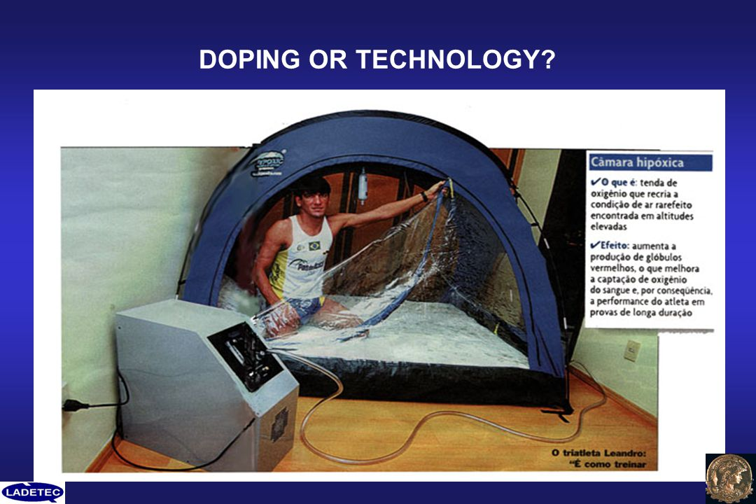DOPING OR TECHNOLOGY