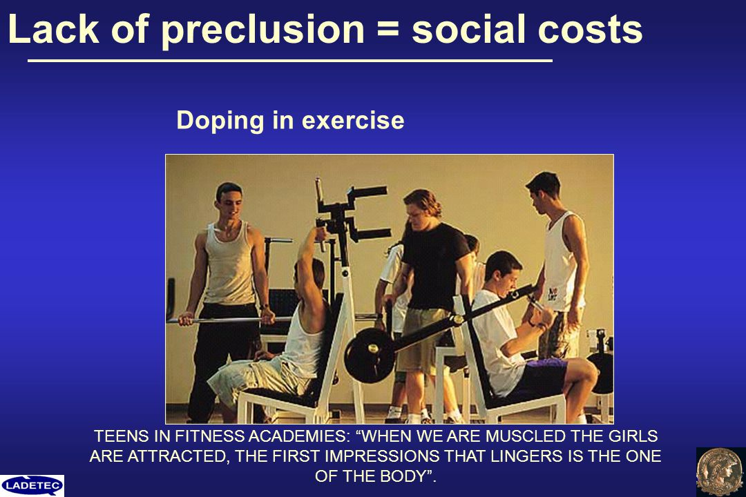 Lack of preclusion = social costs
