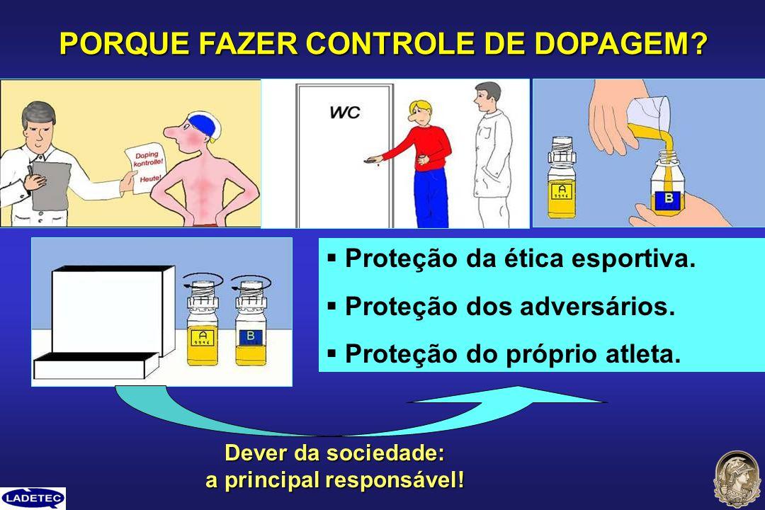 PORQUE FAZER CONTROLE DE DOPAGEM a principal responsável!
