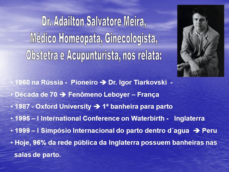 1960 na Rússia - Pioneiro  Dr. Igor Tiarkovski -