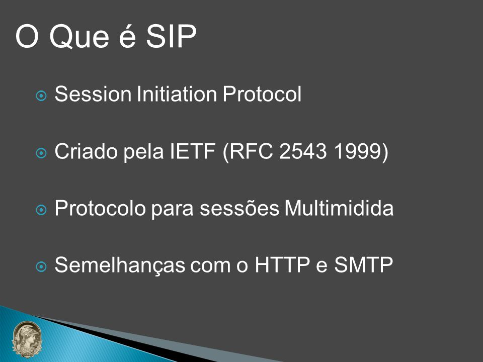 O Que é SIP Session Initiation Protocol