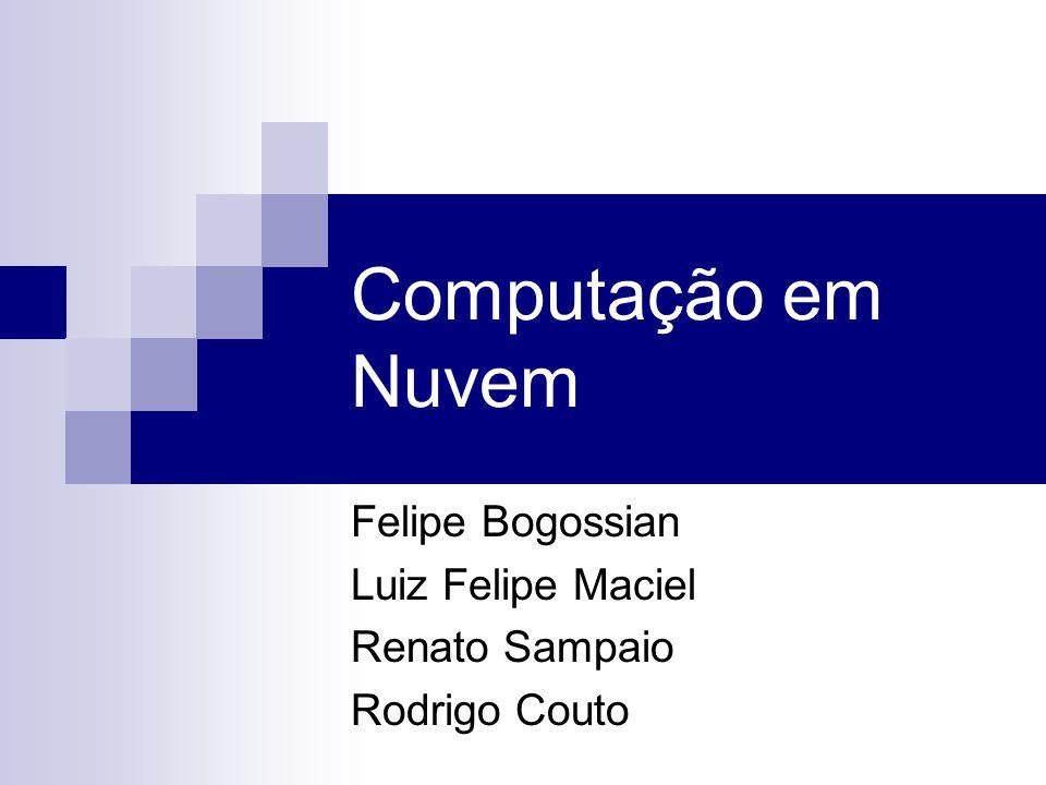 Felipe Bogossian Luiz Felipe Maciel Renato Sampaio Rodrigo Couto